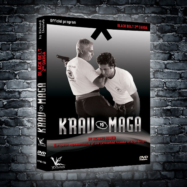 FEKM Krav Maga Black Belt 2nd Darga
