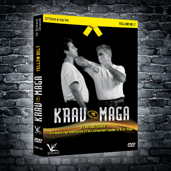 FEKM Krav Maga DVD's by Richard Douieb