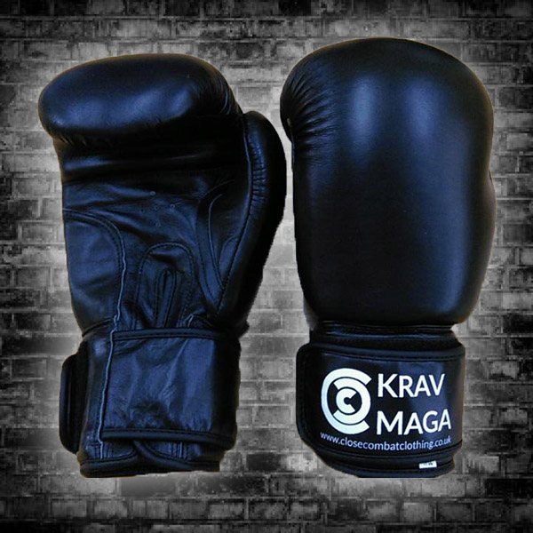 14oz Leather Krav Maga Boxing Glove